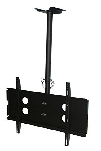 (XtremPro Full Motion Ceiling TV Mount, Tilt 0 to -20° Down, 360° Swivel for Most 40