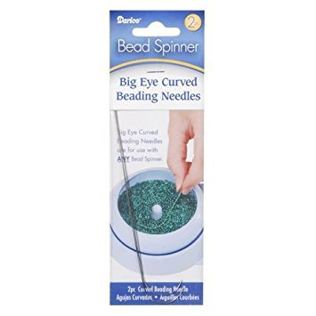 Darice Bulk Buy DIY Bead Spinner Curved Beading Needles 2 Pieces (6-Pack) 10304 by Darice