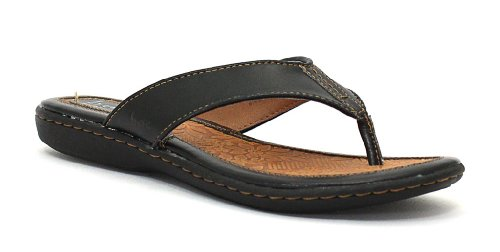BOC by Born Women's Zita Thong Sandals Born Black Leather