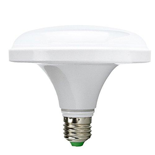Skitic High Power E27 24W LED Strahler Spotlight Bulb Leuchtmittel Birne Leuchte Licht Energy-saving Glühlampe mit Aluminium Gehäuse, Regen Proof Staub Beweis und Anti-Moskito für Haus, Büro, Arbeitsplatz, Geschäft, Restaurant, Schule Beleuchtung (Reines Weiß)