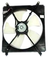 Toyota Camry Radiator Fan Shroud - TYC 600110 Toyota Camry Replacement Radiator Cooling Fan Assembly