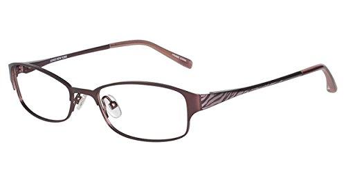 JONES NEW YORK Eyeglasses J134 Burgundy