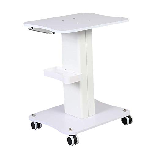 Zhao Li Rolling Equipment Cart for Beauty Salon Spa, Medical Instrument Trolley with Storage Tray & Wheels, Ideal for Beauty Hairdresser Salon,50kg Load (Size : Medium)