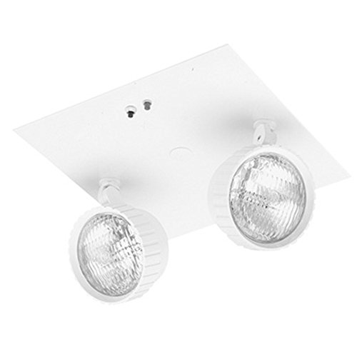 Lithonia Lighting ELR2 2-Light Incandescent Recessed Emergency Unit