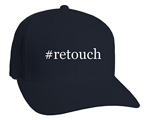 retouch-hashtag-adult-baseball-hat-dark-navy-small-medium