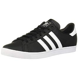 adidas Originals Men's Coast Star Sneaker, Black, White, Black, 4 Medium US