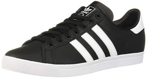 adidas Originals Men's Coast Star Sneaker, Black, White, Black, 11 Medium US