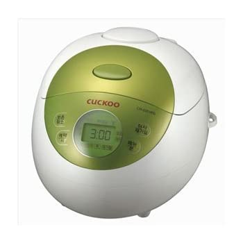 Cuckoo CR-0351FG Electric Heating Rice Cooker (Green)