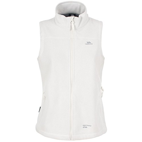 Trespass Womens/Ladies Focused Full Zip Microfleece Gilet/Bodywarmer (XL) (Ghost)