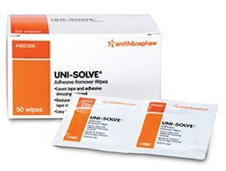 Smith & Nephew Uni-Solve Adhesive Remover - Wipes Box of 50