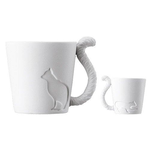 Kinto Mugtail - Taza de té, diseño de gato