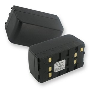 2000mA, 6V Replacement NiCad Battery for Duracell DR11 Video