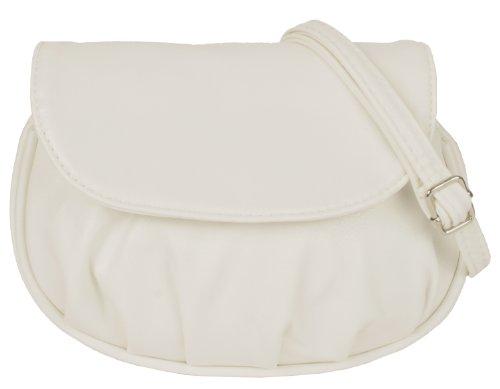 New Bags - Bolso al hombro de material sintético para mujer - blanco