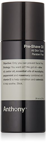 Anthony Pre Shave Oil, 2 Fl Oz from Anthony
