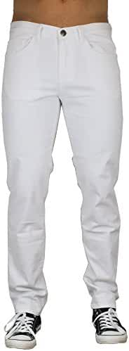 Blu Mens Slim Fit Jeans 20 Colors Soft Stretch Skinny