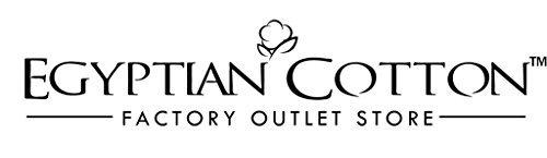 LUXURIOUS King Size 1500 Thread Count Goose Down Alternative Comforter, 100 Percent Egyptian Cotton, 1500 TC, 750FP, 50Oz, Solid White Down Alt Comforter