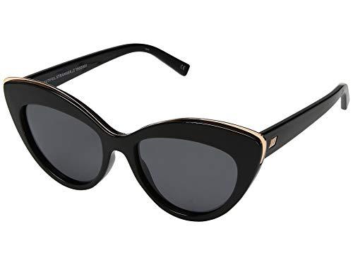 Le Specs Women's Beautiful Stranger Sunglasses, Black, One Size (Best Specs For Men)