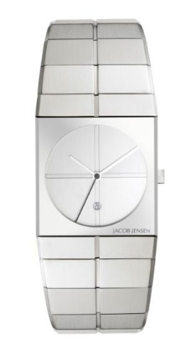 Jacob Jensen 212 Mens Icon Silver Watch