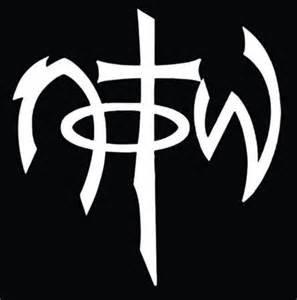 NOTW Not Of This World Christian Jesus God Vinyl Decal Sticker|WHITE|Cars Trucks Vans SUV Laptops Wall Art|5.5
