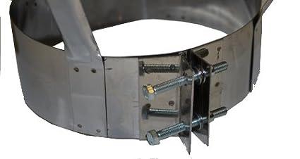 Kaminabdeckung Klipps DN 250mm Schornsteinabdeckung Regenhaube Kaminhaube