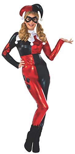 DC Comics Harley Quinn Deluxe Jumpsuit Costume,
