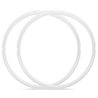 Pot Sealing Ring, Alamic Sealing Ring for Instant pot 6 qt and 5 qt IP models - 2 Pack