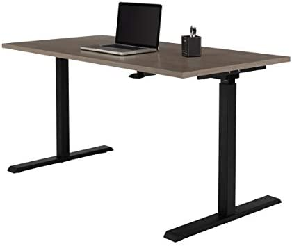 Cheap Realspace Magellan 60″W Pneumatic Height-Adjustable Standing Desk home office desk for sale