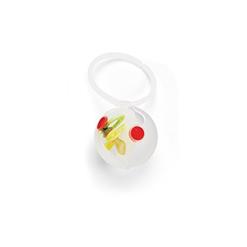 Skip Hop Grab-and-Go Double Egg Pacifier Holder, Multi from Skip Hop
