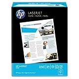 * LaserJet Paper, 98 Brightness, 24lb, 8-1/2 x 11, Ultra White, 500 Shee
