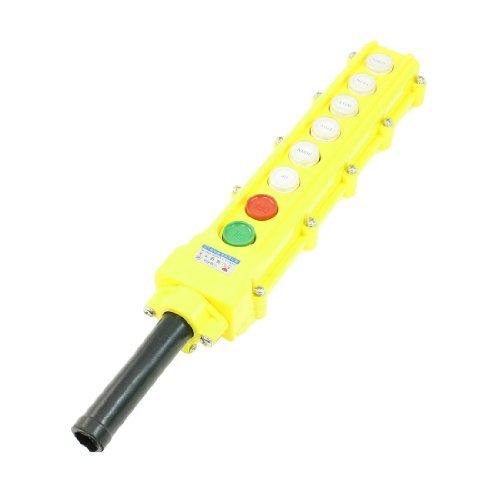 DealMux Pendant Control Station COB-63A Crane Hoist Button Switch 5A/250VAC 2A/500VAC ()