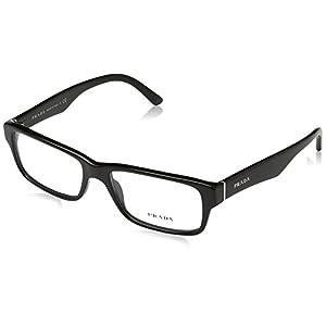 Prada Men's PR 16MV Eyeglasses Gloss Black 55mm