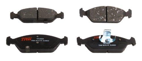 (TRW Black TPC0925 Premium Ceramic Front Disc Brake Pad)