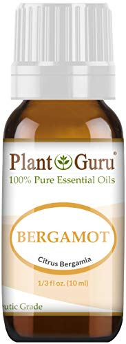 Bergamot Essential Oil 10 ml 100% Pure Undiluted Therapeutic Grade.