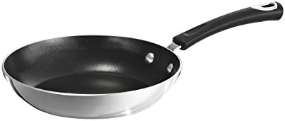 Tramontina 80132 023DS Style Aluminum Non-stick Fry Pan, 8-Inch, Mirror Polished, Made in USA