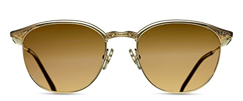 Matsuda - 2830H - Heritage Collection - Sunglasses (Gold Plate, Brown Polarized)