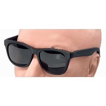 b801e30542 Black 80 s Rayban Style Blues Brothers Gangsters Sunglasses  Amazon ...