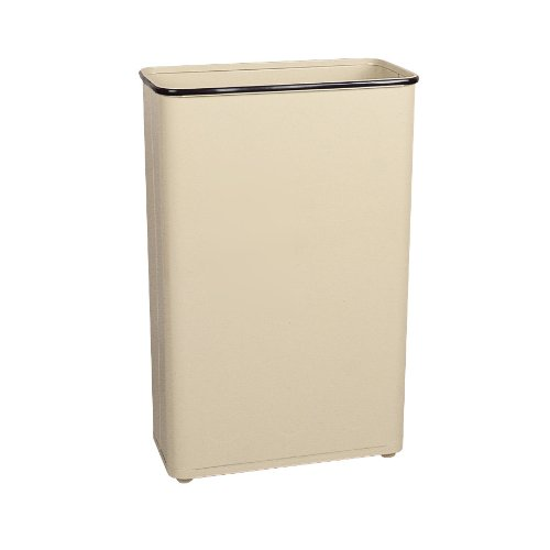 Rubbermaid Commercial Trash Can, 24 Gallon, Almond, FGWB96RAL by Rubbermaid Commercial Products