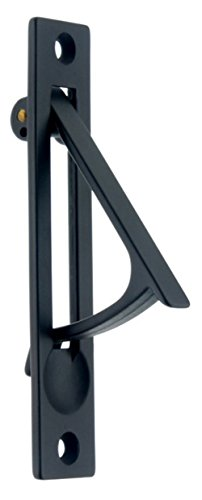 Solid Forged Brass Edge Pull - idh by St. Simons 14020-019 Professional Grade Quality Genuine Solid Brass Edge Pull, 4-Inch, Matte Black