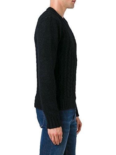 Balmain Homme W6HM682C602176 Noir Laine Maille