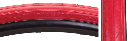 740 Tire, 700 x 23c, Red/Red ()