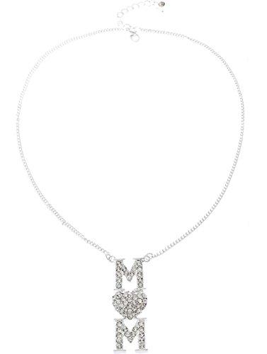 Diamants Cadeau Mom's Day Boucles d'oreilles Pendentif Collier Bijoux pour femmes