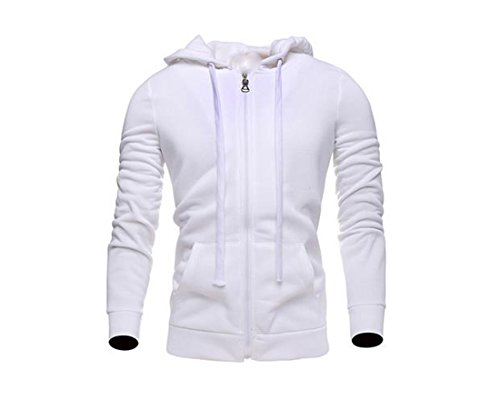 cheap Generic Mens Wild Lightweight Pocket Various Color Zip-up Hoodie save more