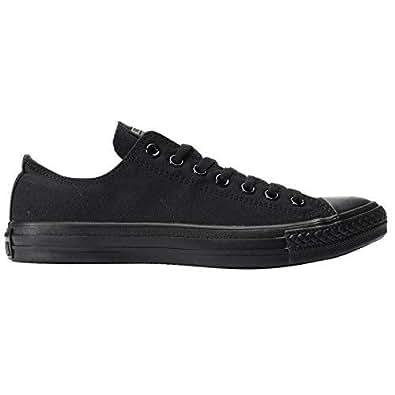 Converse Australia Chuck Taylor All Star Unisex Adults Sneakers, Black Monochrome, 4 US Men / 6 US Women