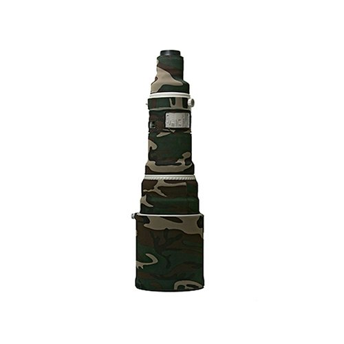LensCoat Lens Cover for the Canon 600mm f/4.0 IS Lens - Forest Green Woodland Camo