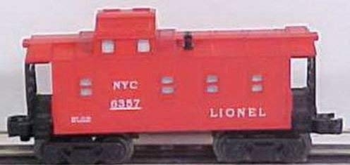 LIONEL TRAINS NEW YORK CENTRAL CABOOSE - New York Central Caboose