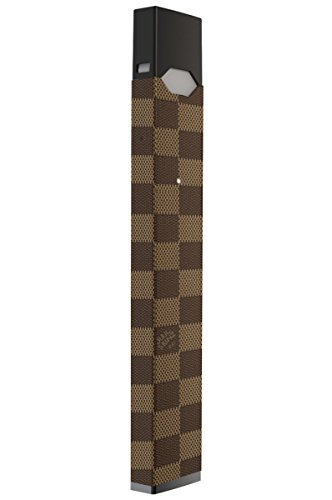 JUUL Decal | JUUL Skin | JUUL Sticker | JUUL Wrap For The JUUL Vape / BROWN CHECKERS