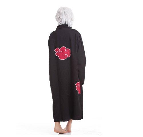 Cosplay Akatsuki Sasuke Itachi Costume Cloak Uniform