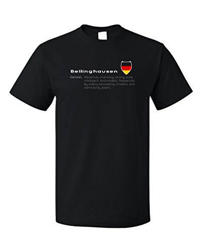 """Bellinghausen"" Definition | Funny German Last Name Unisex T-shirt"