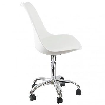 Office Dsw Mobistyl Inox Bureau Roulettes Chaise Pieds Inspiration NwPknZ0O8X