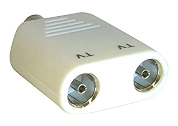 CDL Micro Cable coaxial de 2 vías aérea Canal Splitter/Joiner con 2 x 1